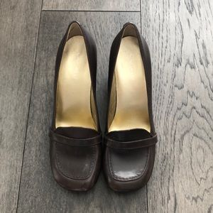 Nine West brown Woman's moccasins